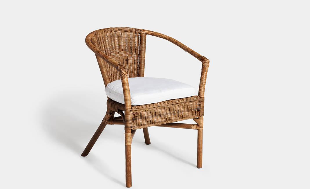 Sillas de mimbre affordable sillas with sillas de mimbre - Silla huevo ikea ...