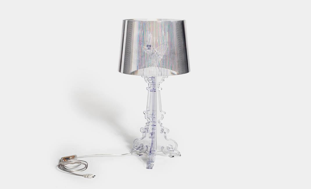 Bourgie Tafellamp Kartell : Kartell bourgie tischleuchte deisgn ferruccio laviani