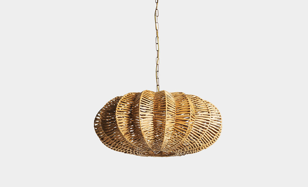 Wicker Lamp  | Crimons