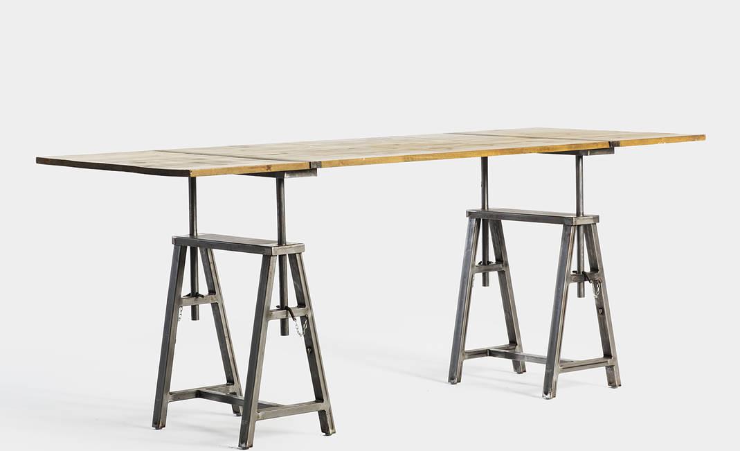 Alquiler de mesas para todo tipo de eventos mesa caballete - Caballetes para mesas ...