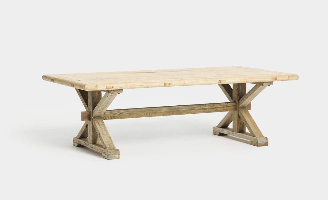 Antique Wood Coffee Table | Crimons