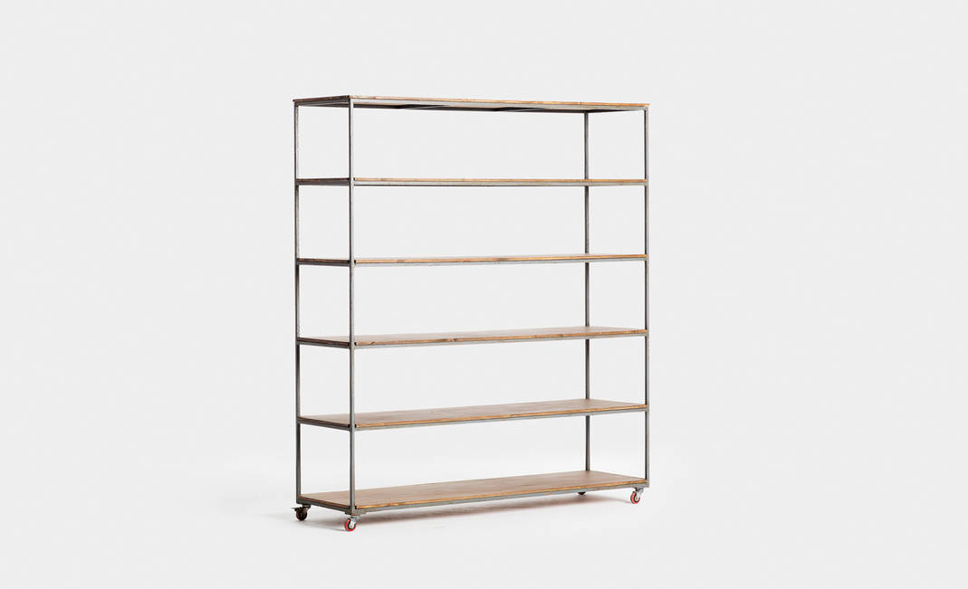 Wood/Iron shelf | Crimons