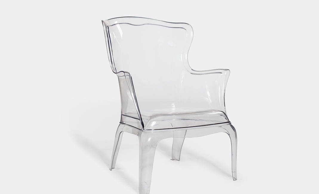 Wing methacrylate armchair | Crimons