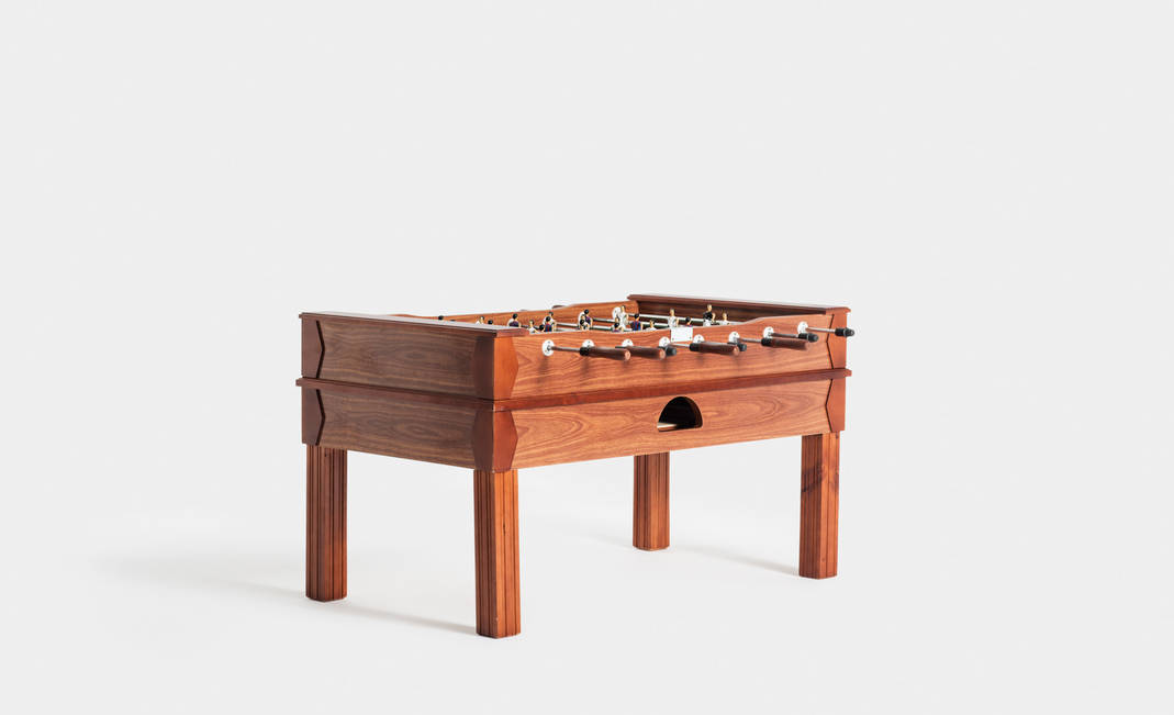 Wooden Football Table Crimons