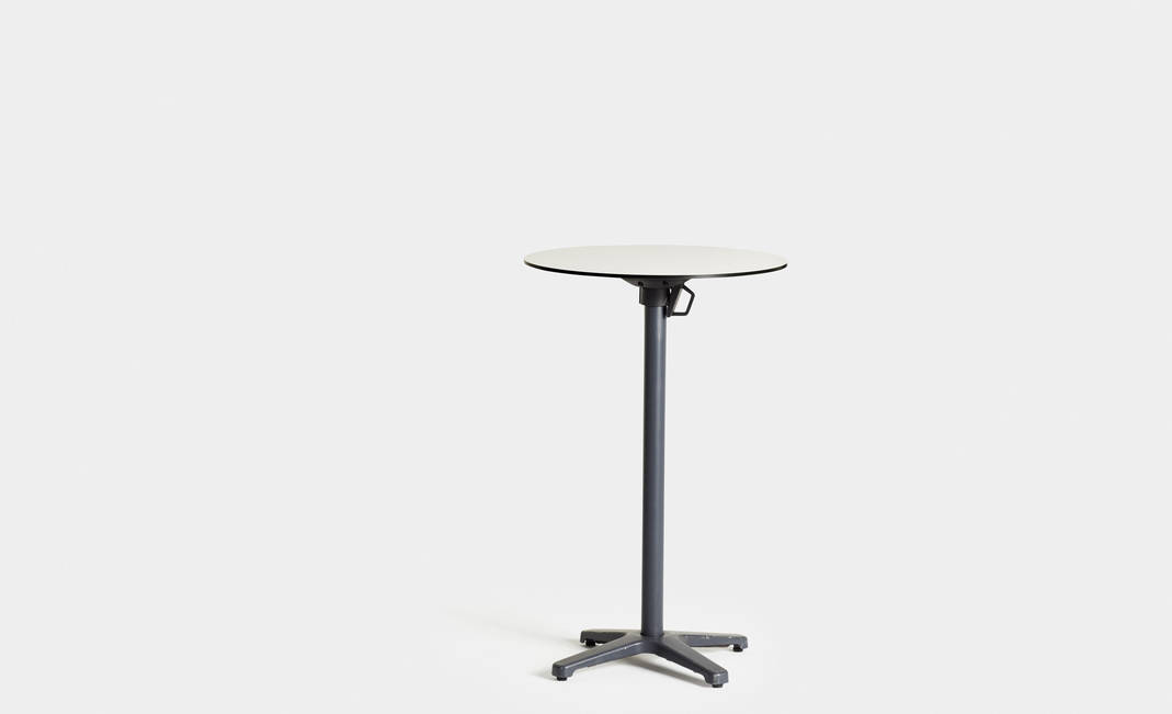 White Rounded High Table | Crimons