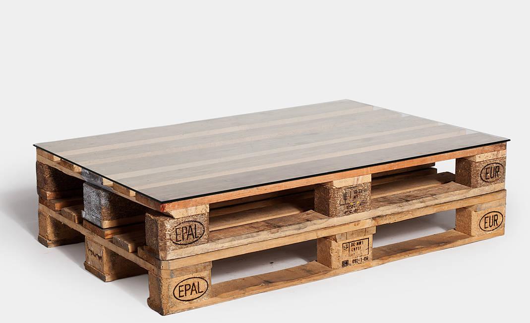 mesa palet crimons - Mesa De Palets