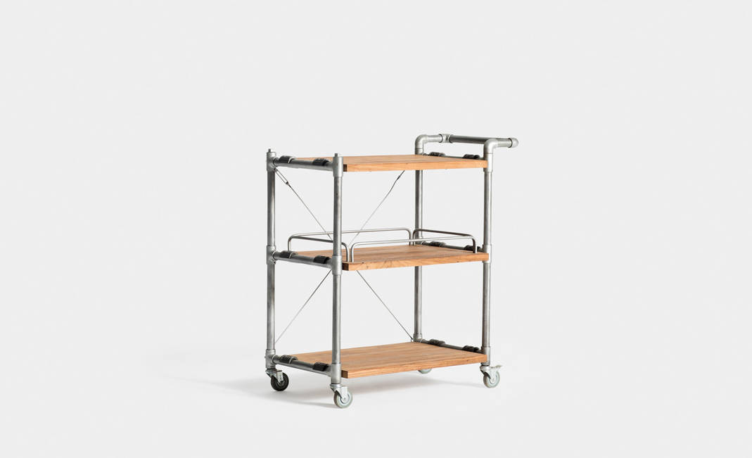 Industrial Look Trolley | Crimons