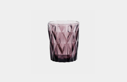 Carved Malva Glass | Crimons