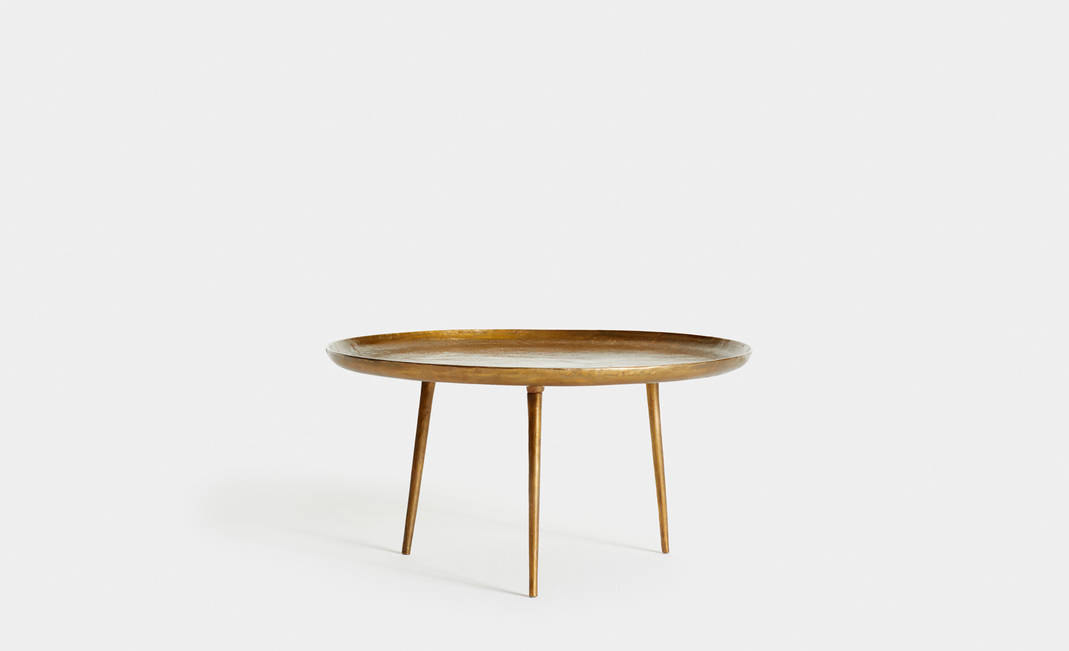 Golden Low Table | Crimons