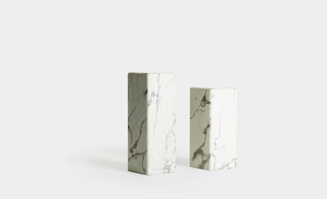 White Marble Column | Crimons
