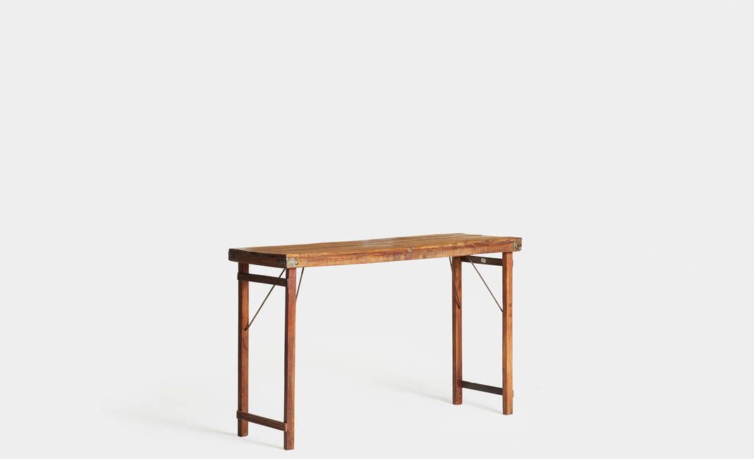 High Industrial Portobello Table | Crimons