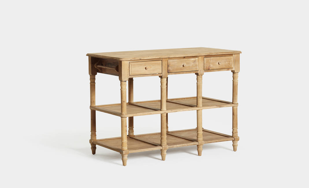 Wood Console | Crimons