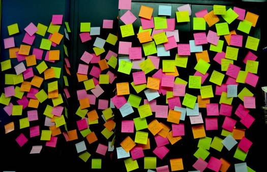 Post-it event | Crimons