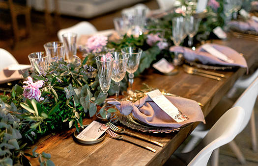 Decorating styles for events | Surprise your guests | Crimons