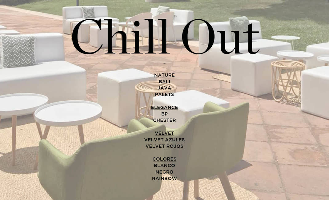 Chill Outs Petit Format | Crimons