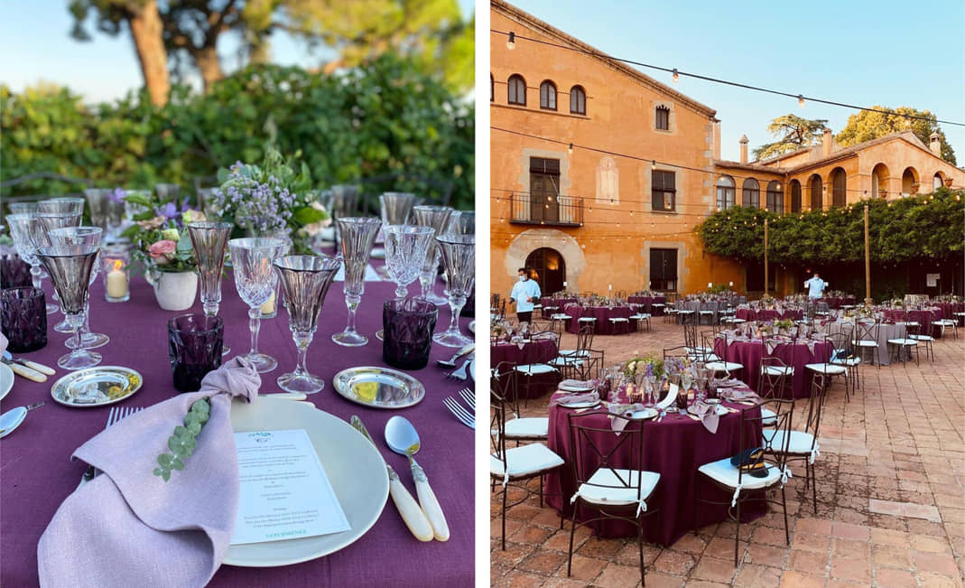 Ideas para decorar mesas de boda | Crimons