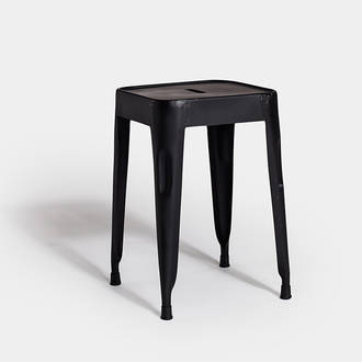 Black Industrial Stool | Crimons