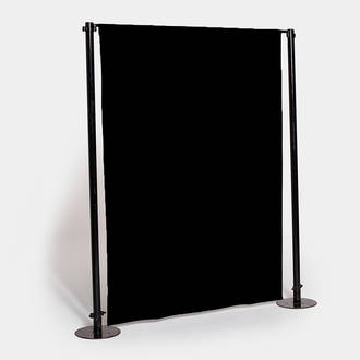 Black room divider | Crimons
