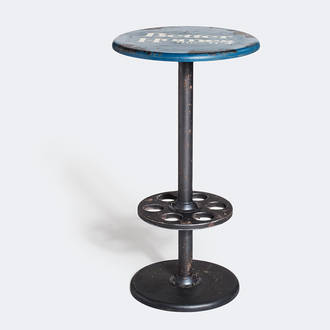 Blue Factory High Table | Crimons
