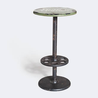 Green high Facotry table | Crimons