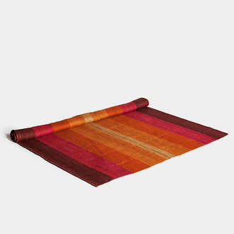 Deep-red/orange carpet  | Crimons