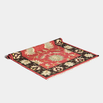 Kilim Rug: various colors | Crimons
