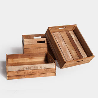 Wooden boxes | Crimons