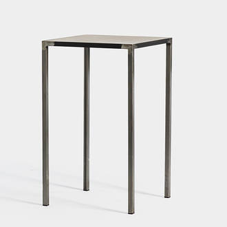 Iron/Wood Industrial High Table | Crimons