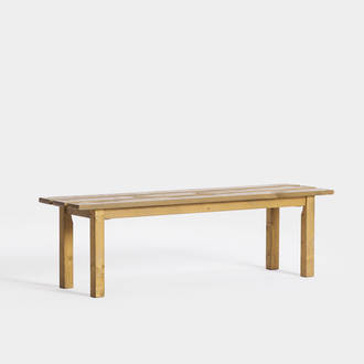 Wooden bench | Crimons