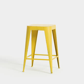 Yellow industrial stool | Crimons