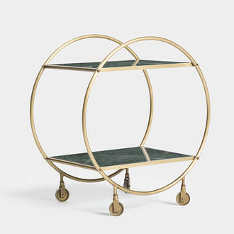 Green Marbre Trolley  | Crimons
