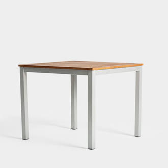 Teak/iron table | Crimons