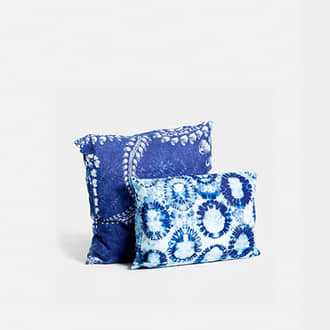 Blue indian cushion | Crimons