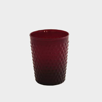 Spotted red glass | Crimons
