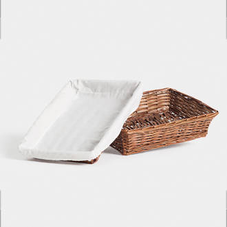 Light wicker tray | Crimons