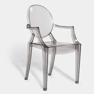 Louis Ghost armchair | Crimons