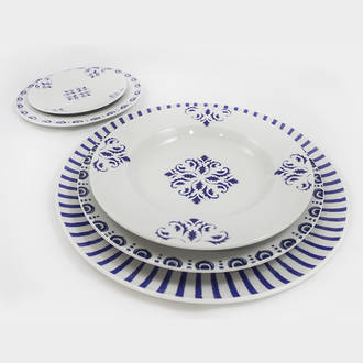 Blue prestige crockery | Crimons