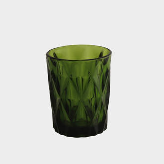 Carved Green Glass | Crimons