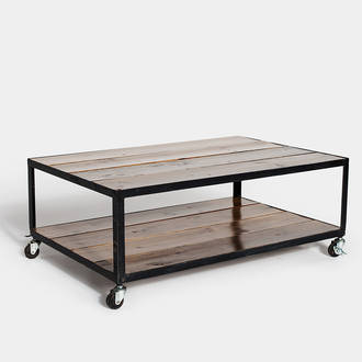 Factory table with wheels  | Crimons