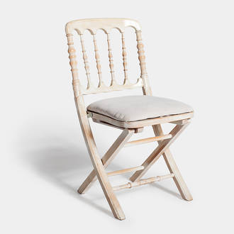 White Napoleón chair | Crimons