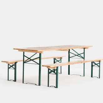 image Slow 54 mesa de madera iluminada
