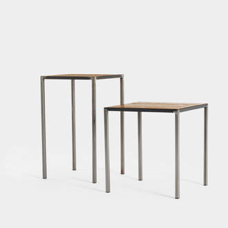 Factory Iron/Wood Table | Crimons