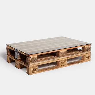 Pallet table | Crimons