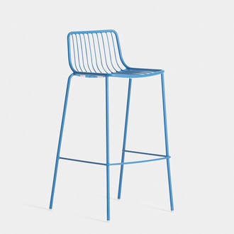 Blue Acapulco Stool | Crimons