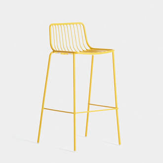 Yellow acapulco stool | Crimons