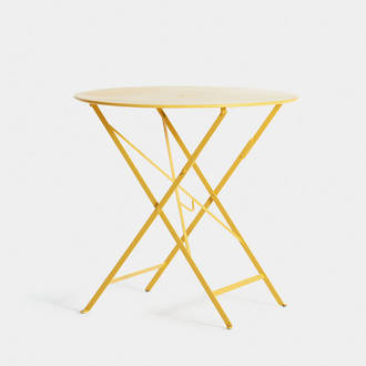 Yellow garden table | Crimons