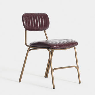 Garnet upholstered chair | Crimons