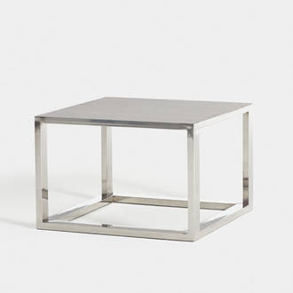 Ribbed steel table | Crimons