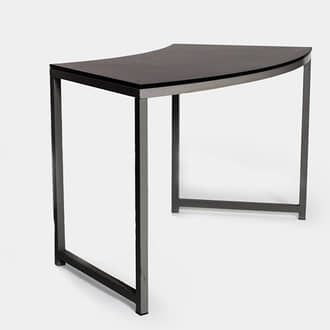 Black curved niza table | Crimons