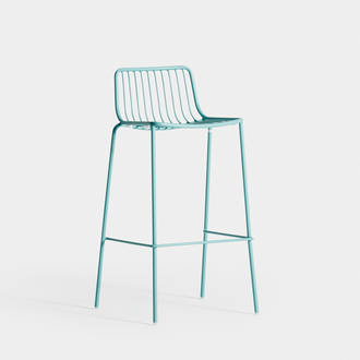 Green Water Acapulco Stool | Crimons